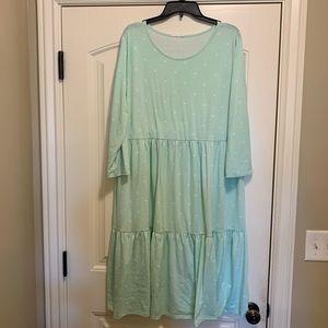 Dresses & Skirts - Darling polka dot tiered dress